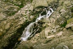 A beautiful mountain river landscape in Tatry. Slovakia stock photo