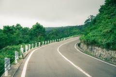 Beautiful mountain road Royalty Free Stock Photos