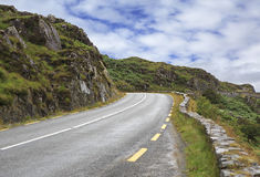 Beautiful mountain road. Royalty Free Stock Photography