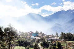 The beautiful mountain at SAPA VIETNAM Royalty Free Stock Photography