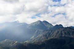 The beautiful mountain at SAPA VIETNAM Stock Photo