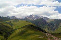 beautiful mountain scenery 雪峰顶 库存照片