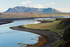 Beautiful mountain scenery Stock Images