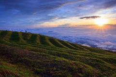 Beautiful mountain scenery. In Phetchabun, Thailand Royalty Free Stock Image