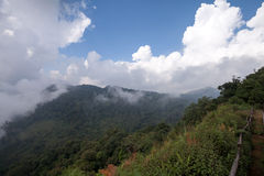 Beautiful mountain scenery. In Phutabberk Phetchabun, Thailand Stock Photos