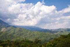 Beautiful mountain scenery. In Phutabberk Phetchabun, Thailand Stock Photography