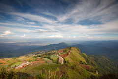 Beautiful mountain scenery in Phutabberk Phetchabun, Thailand Royalty Free Stock Image