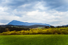 A beautiful mountain scenery of Tatra mountains Stock Photography