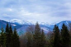 A beautiful mountain scenery of Tatra mountains Royalty Free Stock Photo