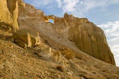 Free Beautiful Mountain Sierra In Desert Canyon Boszhira In Ustyurt Plateau, Kazakhstan Royalty Free Stock Photos - 96630538