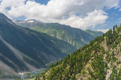 Beautiful mountain in Sonamarg in summer, Jammu Kashmir, India. Asia stock image