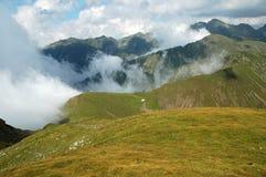 Beautiful mountain summer scenery. Fagaras mountains, Romania Stock Photography