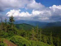 Beautiful mountain top Stock Images