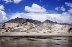 Beautiful mountain under blue sky Royalty Free Stock Image