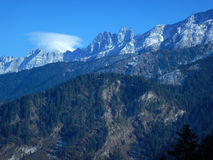 Beautiful mountain in Uttranchal Royalty Free Stock Photo