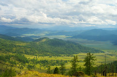 Beautiful mountain valley Royalty Free Stock Photography