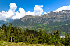 Beautiful Mountain Valley Stock Images
