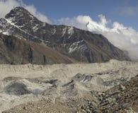 Beautiful mountain view of Everest Region,  Nepal Royalty Free Stock Photos