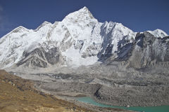 Beautiful mountain view of Everest Region,  Nepal Stock Image