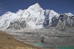 Beautiful mountain view of Everest Region,  Nepal Stock Image