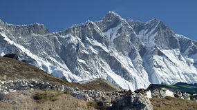 Beautiful mountain view of Everest Region,  Nepal Stock Images