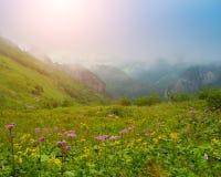 Beautiful mountain view Royalty Free Stock Photo