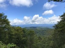 View from Hooper Bald stock image