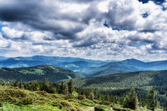 Beautiful mountain view Royalty Free Stock Photography