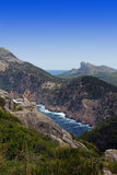 Beautiful mountain view in Mallorca. Balearic islands Royalty Free Stock Photography
