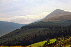 Beautiful mountain view Royalty Free Stock Photos