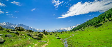 Beautiful mountain view with snow of Sonamarg, Jammu and Kashmir state. India Stock Images