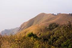 Beautiful mountain  view trekking route Royalty Free Stock Photo
