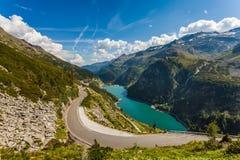 Beautiful mountain views - Maltatal, Austria. Stock Image