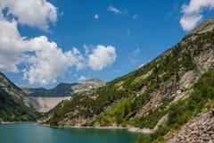 Beautiful mountain views - Maltatal, Austria. Stock Photo