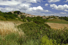 The Beautiful Mountain Village of Murs Stock Images