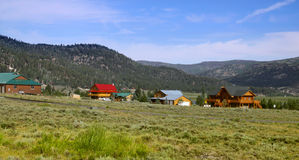 Beautiful mountain village in Utah Stock Image