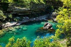 Beautiful mountain water Stock Photo