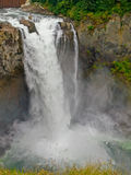 Beautiful Mountain Waterfall stock photos