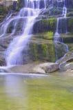 Beautiful mountain waterfall Stock Image