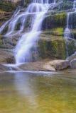 Beautiful mountain waterfall Stock Images