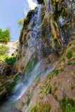 Beautiful mountain waterfall Stock Images