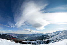 Beautiful mountainous landscape Royalty Free Stock Image
