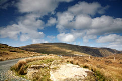 Beautiful Mountains. A beautiful view of the mountains in Donegal, Ireland royalty free stock images