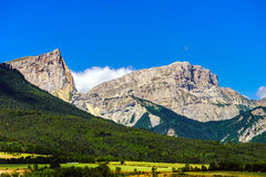 Free Beautiful Mountains In French Alps Royalty Free Stock Images - 58393089