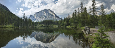 Beautiful Mountains landscape in Austria Royalty Free Stock Image