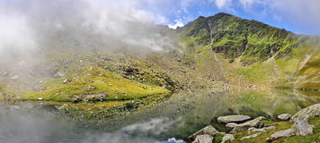 Mountains Landscape in Romania. Landscape from Fagaras mountains in Romania royalty free stock images