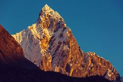 Cordillera stock image