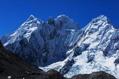 Cordillera. Beautiful mountains landscapes in Cordillera Huayhuash, Peru, South America Stock Photography