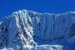 Cordillera. Beautiful mountains landscapes in Cordillera Huayhuash, Peru, South America Stock Photo