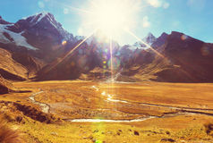 Cordillera Royalty Free Stock Photo